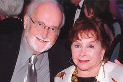 Photo of Dr. Howard Hecht and his wife Gloria