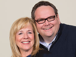Photo of Micah and Peggy Bartlett. Link to Life Stage Gift Planner Under Age 60 Situations.