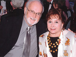 Photo of Dr. Howard Hecht and his wife Gloria. Link to their story